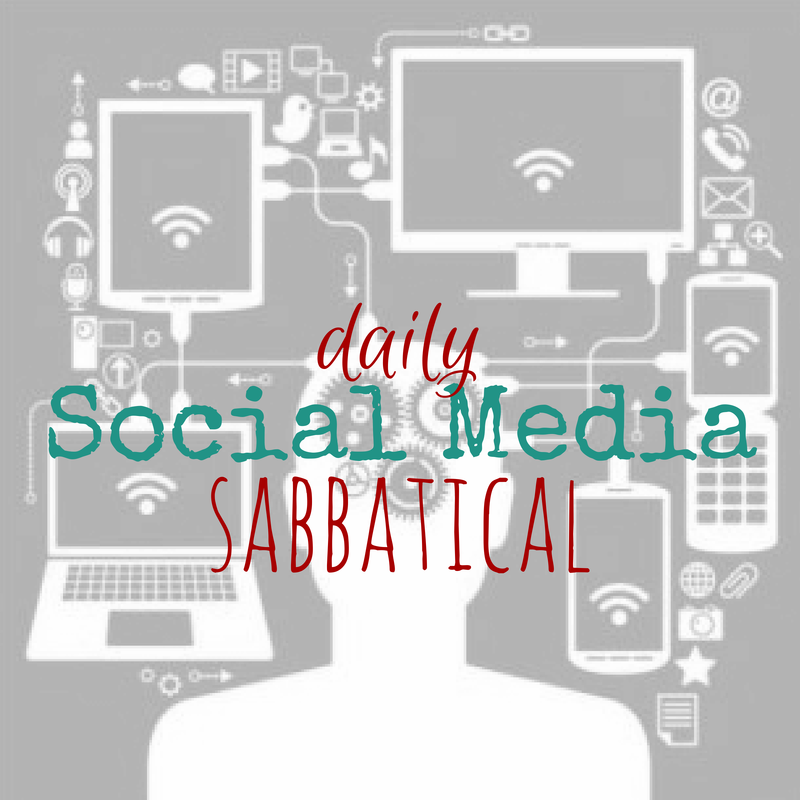 Daily Social Media Sabbatical