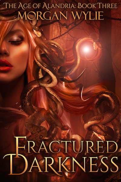 Cover Reveal: Fractured Darkeness by Morgan Wylie