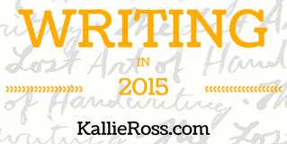 Writing in 2015