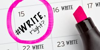 #Write, right?