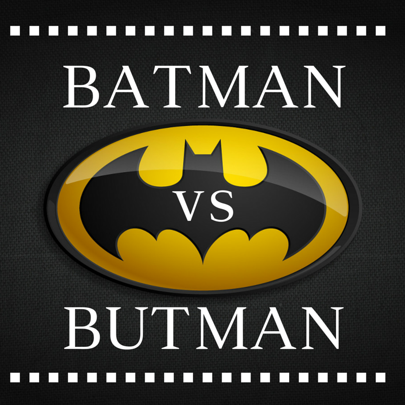 Superwriter Series #3: Batman vs. Butman