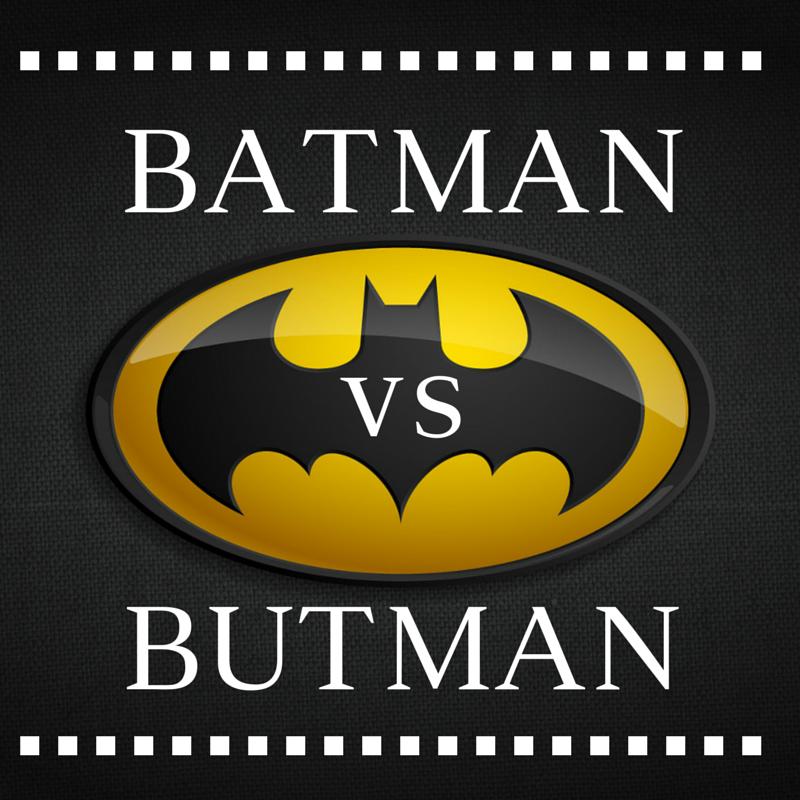 Superwriter Series #3: Batman vs. Butman