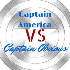 Superwriter Series #2: Captain America vs. Captain Obvious