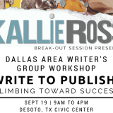 Dallas Area Writers Group Workshop