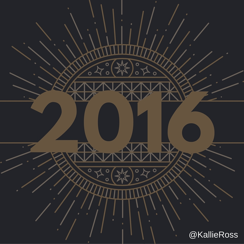 What will you do (or not do) in 2016?