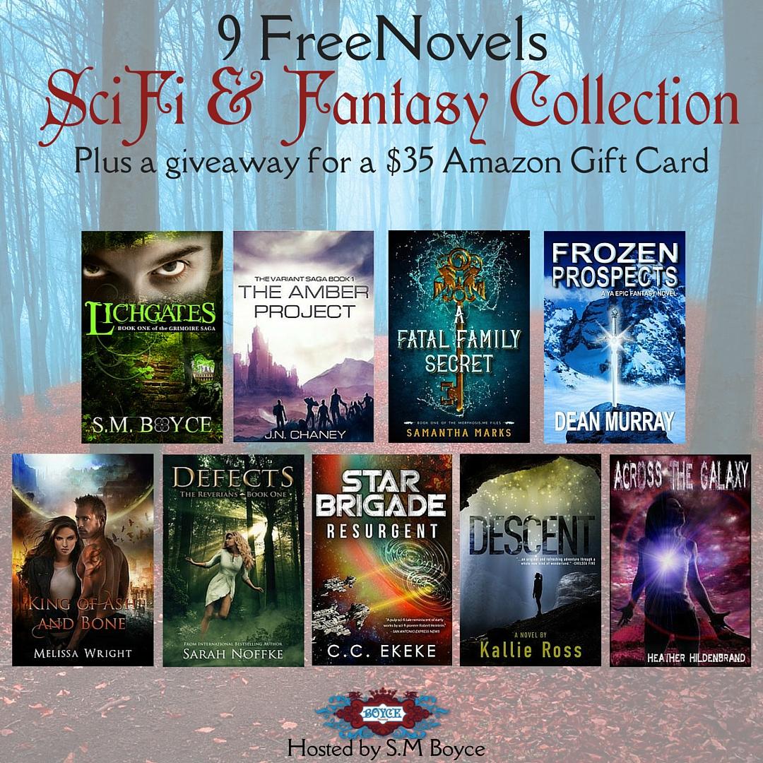 Sci-Fi & Fantasy Instafreebie.com Giveaway